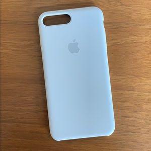 iPhone 8 Plus White Silicone Case